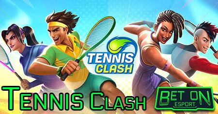 tennis clash mobile game